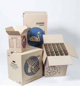 cartons penderie