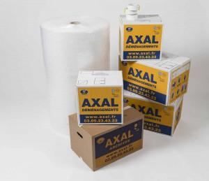 cartons de déménagement Axal